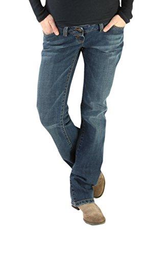 Christoff New 2015 Designer Jeans Stone wash, Leichter Boot-Cut Damen Jeanshose Umstandsmode 638/88