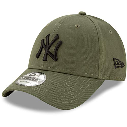 New Era Gorra de béisbol 9FORTY York Yankees Verde Oliva-Negro - Ajustable