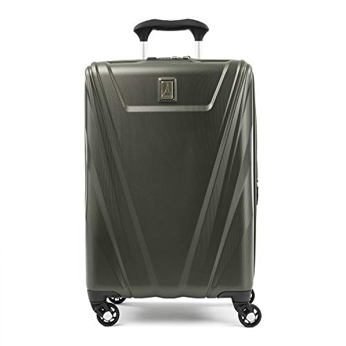 Travelpro Maxlite 5-Hardside Spinner Wheel Luggage, Slate Green, Carry-On 21-Inch