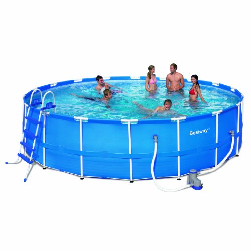 Bestway 56463 Steel Pro Frame Pool Set, 18' x 48'