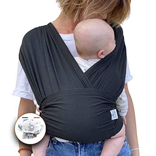 Echarpe de portage   mains libres   rassurant&renforce le lien avec votre nouveau né   facile d'utilisation  ...