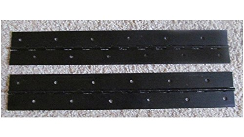 USA Premium Store A Pair 2 Aluminum Anodized Black Piano Hinge 1'x 1'x 12' 20 Gauge RV Boat