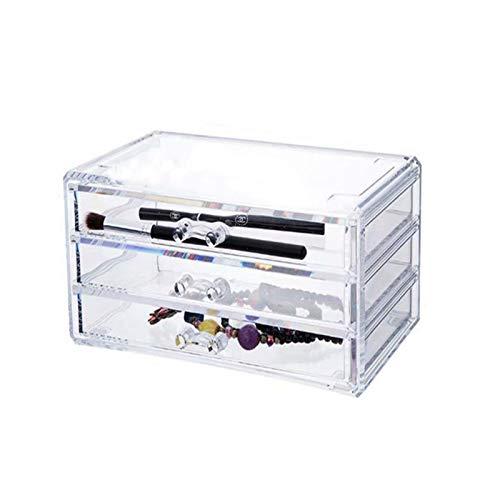 Youpin Caja de almacenamiento de joyas, organizador de joyas, organizador de joyas, estuche de almacenamiento de pendientes, collar y reloj, acrílico extraíble (color : caja de almacenamiento)