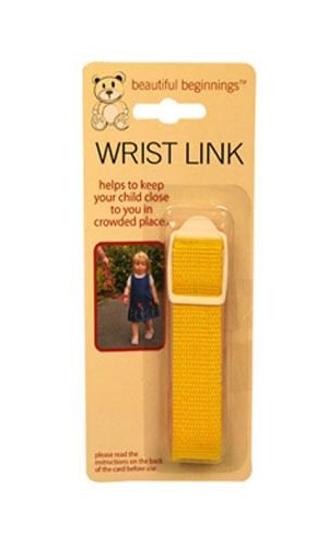 Yellow Adjustable Wrist Link Safety Rein Restraint Toddler Walking Various Colours 81cm
