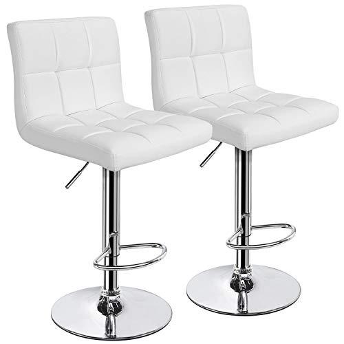 white bar stools - 6
