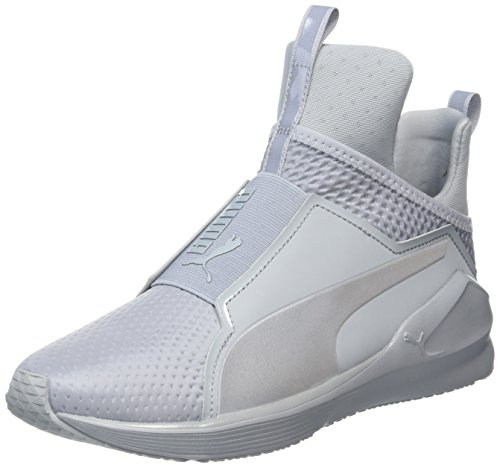 Puma Fierce Quilted, Sneaker Donna, Argento (Quarry-Silve 02QUARRY-Silve 02), 41 (8 UK)