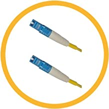 8M LC/UPC-LC/UPC 9/125 Singlemode Simplex (Genuine Plus Corning Glass) Fiber Jumper Zipcord Cables 2.0 Jacket / BIF