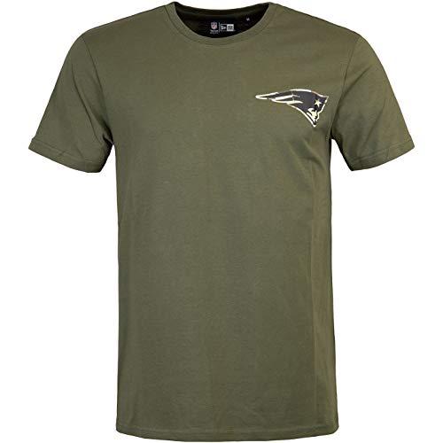 New Era NFL New England Patriots - Camiseta de manga corta, diseño...