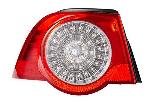 HELLA 2VA 009 246-091 Heckleuchte - LED - glasklar/rot - äusserer Teil - links