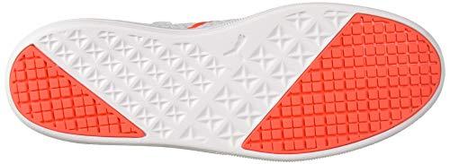 PUMA Men's 365 Concrete Lite Futsal-Shoe, Grey Dawn White-nrgy Red, 9 UK