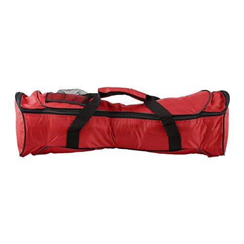 Greatangle-UK Bolso de Scooter portátil de Equilibrio automático Bolso de monopatín Bolso de Coche de Dos Ruedas Bolso de Transporte de Hoverboard electrónico con Cremallera Impermeable Rojo