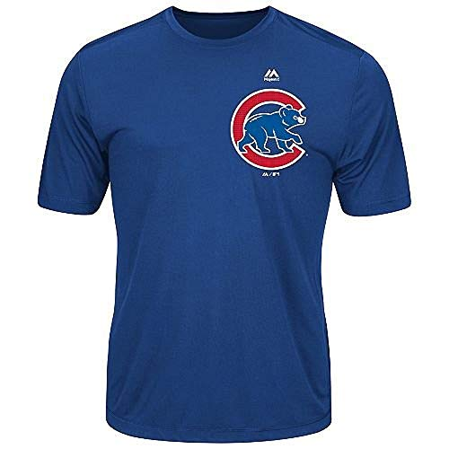 Majestic Youth Cool Base MLB Evolution Shirt Chicago Cubs XL