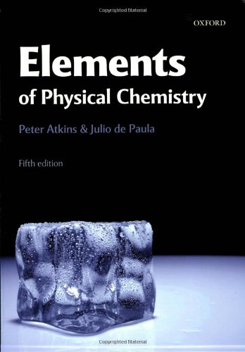 Elements of Physical Chemistry: 19