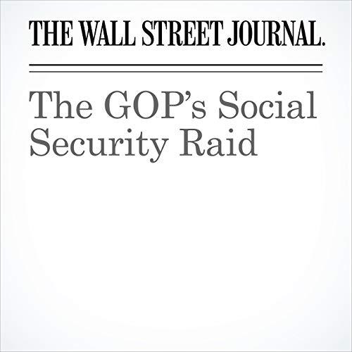 The GOP's Social Security Raid copertina
