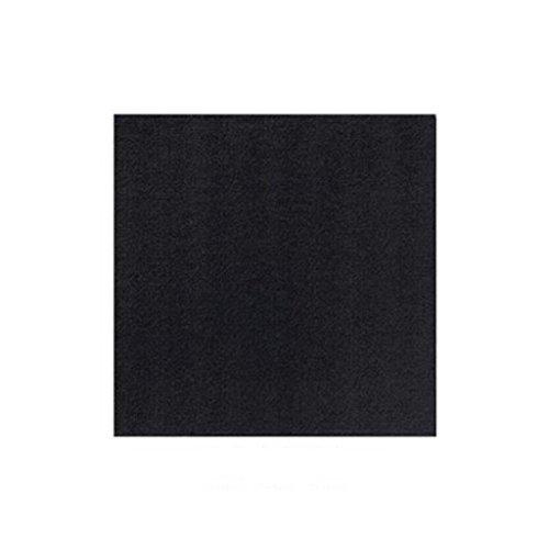 Liuyu Kitchen Home Serviette Serviette de Table Jetable Hôtel Serviettes en Papier Noir Bouchon 20 * 20cm 180 Feuilles / 1 Packs (Couleur : Noir)