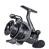 LITOSM Carrete De Pesca Reel de Giro Ligero 2000 3000 4000 5000 9BB 5.2: 1 Roble de Pesca Tackle For Treuch Bass Pike Zander Carretes De Lanzado (Bearing Quantity : 9, Spool Capacity : 4000 Series)