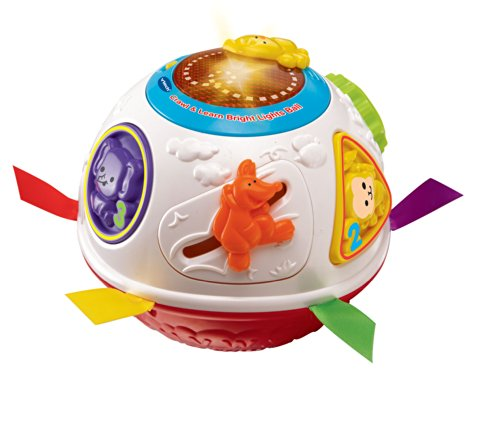 Vtech - Crawl and Learn Bright Lights Ball - Rouli-Balle Magique Version Anglaise