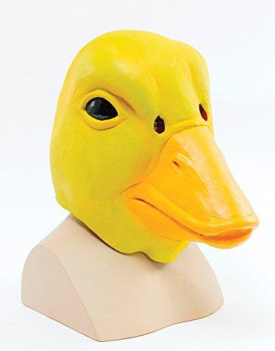 Hazmat Anzug & Maske - Bristol Novelty BM343 Ente Maske, gelb,