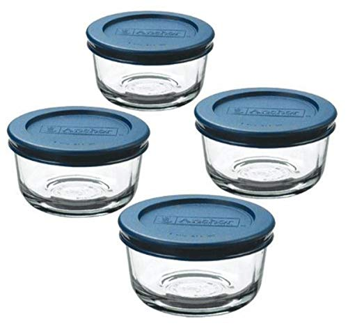4-Piece Anchor Hocking Glass Food Containers $6.24 (amazon.com)