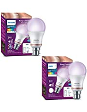 Philips Smart Wi-Fi LED Bulb B22 WiZ Connected (16 Million Colors + Warm White/Neutral White/White + Dimmable + Pre-Set Modes) (Compatible with Amazon Alexa and Google Assistant)