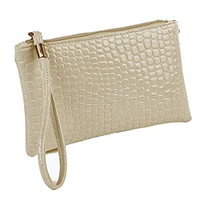 Amazon - Save 80%: Women Leather Clutch Handbag Bag Coin Purse, Smartphone Wristlet Pur…