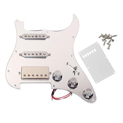 MagiDeal Pickguard Cargado de Guitarra Con Tornillos de Placa Posterior Piezas para...