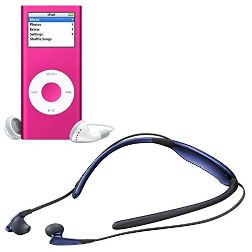 Drumstone Sweatproof Magnetic Bluetooth Headset with 2st Mp4 Player with Digital LCD Display
