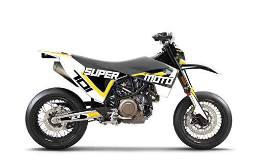 ARider Dekor für Husqvarna 701 2016-2021 Supermoto Edition (Weiß)