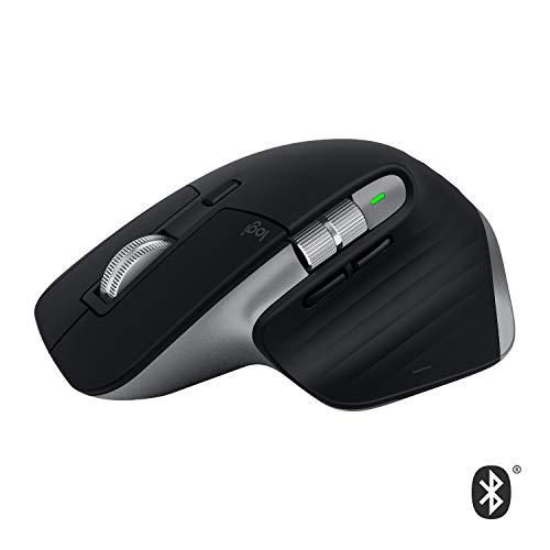 Logitech MX Master 3 – Die fortschrittliche, kabellose Maus für Mac, Ultraschnelles Scrollen, ergonomisches Design, 4.000 DPI, individualisierbar, USB-C, Bluetooth, für MacBook und iPad, Grau - 2