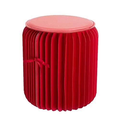 YY-HW Mode abendessen hocker Folding Kraft Paper Hocker, mit Tragfähigkeit 300kg Hexagonal Honeycomb Struktur multifunktionalen wasserfesten hocker, home wohnzimmer raum kreative design möbel , Falzen