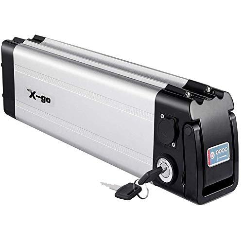 X-go Bateria Bicicleta Electrica 36V Bateria 36V 10Ah Adecuado para Motor De 350W (Tablero de Protección de BMS)