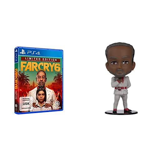 Far Cry 6 - Limited Edition (exklusiv bei Amazon, kostenloses Upgrade auf PS5)   Uncut - [PlayStation 4] + Ubisoft Heroes - Anton Figur   Serie 3