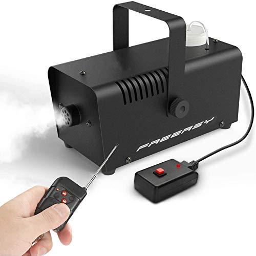 Freeasy Fog Machine 500 Watt Smoke Fog Machine Wireless Remote Control Portable...