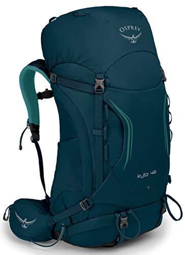 Osprey Packs Kyte 46 Women's Backpack, Ice Lake Green, WX/Small
