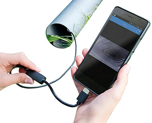 Somikon Endoscope: USB-HD-Endoskop-Kamera für PC und OTG-Android-Smartphone, 2 m, IP67 (Endoskopkamera Handy)