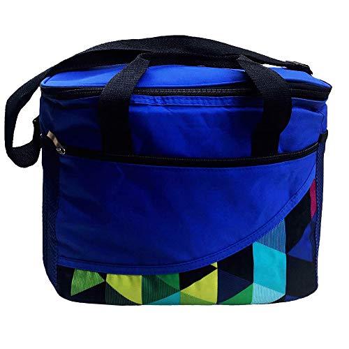 NOVAGO Eiskeller Kühltasche für den Strand, Picknick und einkaufen im supermarkt (Indigoblau)