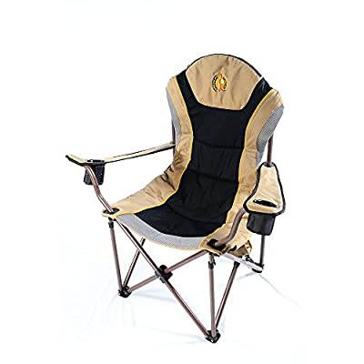 Oversized Camping Chair Charlie 440 Pound Big Boy Canvas Folding Camping Chair