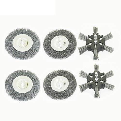 Parkside Fugenbürsten Set, 6-teilig (2x Metall, 2x Kunststoff (schmal) und 2x Kunststoff (breit), für Parkside Universalbürste PUB 500 A1 - LIDL IAN 308713