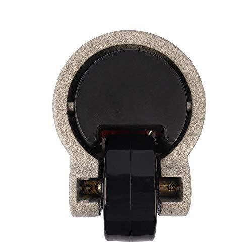 """41+98DpSiXL. SL500  - Fafeicy 4 piezas 2""""Placa superior giratoria de 360 grados, rueda de nivelación retráctil, rueda giratoria para máquina industrial, capacidad de 551 libras para trabajo pesado"""