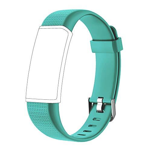 Willful Ersatz Armband Fitness Armband mit Pulsmesser (Grün)