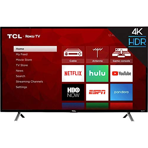 "TCL 49"" Class 49S403 (48.5"" Diag.) 4K Ultra HD Roku LED LCD TV"