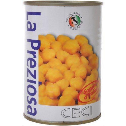 ラ・プレッツィオーザ チェーチ(ひよこ豆)水煮缶400g