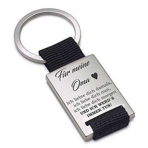 Lieblingsmensch Schlüsselanhänger Modell: Ich liebte Dich damals… - Oma