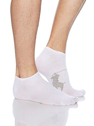Polo Ralph Lauren - Lot de 3 paires de chaussettes Big Pony - Taille unique 39 à 45 - Blanc