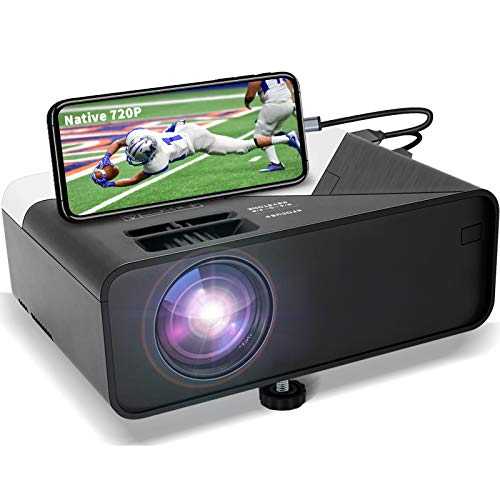 GRC Mini 720p HD Projector with Built-in Speaker, HDMI, USB, SD - $66.00 Each