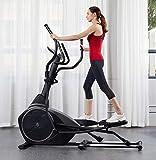Máquina elíptica de Control magnético, Zapatillas elípticas Stepper Space Walker Equipo de Bicicleta de Ejercicio para Interiores Inicio Bicicleta de Ejercicio de Gran Paso para Deportes SIL