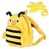 Kinder Rucksack Kindergartentasche mit Verlorenem Sicherheitsgurt Kindergarten-Rucksack Kids-Backpack Einsteigerrucksack Kinder Tasche für Baby Jungen Mädchen 1-3 Jahre