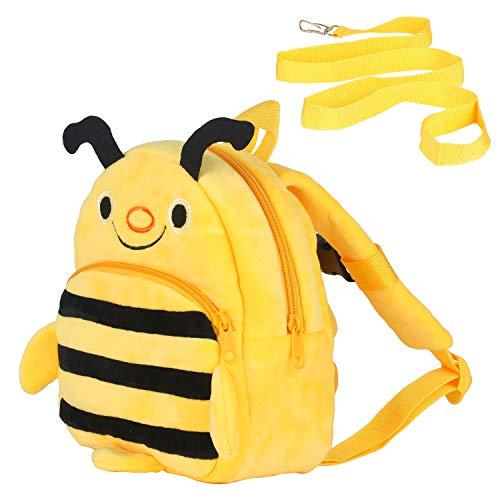 Kinderrucksack, Rucksack Kindergartentasche Mini Kindergarten-Rucksack Einsteigerrucksack Kinder Tasche für Baby Jungen Mädchen 6 Monate-3 Jahren (Yellow)