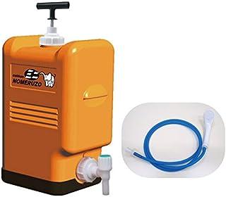 Amazon.co.jp限定 防災 非常用ポリタンク型浄水器「コッくん飲めるゾウミニ」シャワーノズルセット~災害時は飲料水確保に、普段はレジャー用としてキャンプ・海水浴などでシャワーに!~