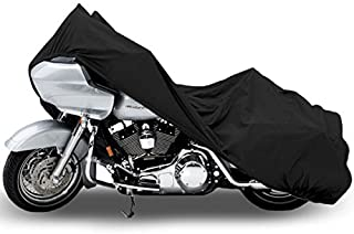 Motorcycle Bike Cover Travel Dust Storage Cover For Victory Kingpin Deluxe 8-Ball Tour